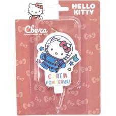 Свеча Фигура, Hello Kitty, Космонавт, 7 см, 1 шт.