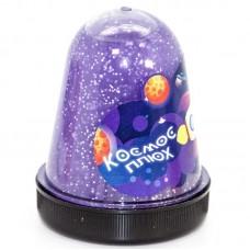 Слайм, Космос, Фиолетовый, с блестками, 130 гр, 1 шт.