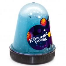 Слайм, Космос, Синий, с блестками, 130 гр, 1 шт.