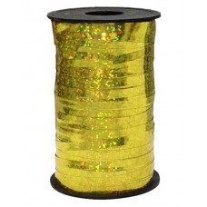 Лента (0,5 см*250 м) Золото, Голография, 1 шт.