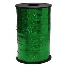 Лента (0,5 см*250 м) Зеленый, Голография, 1 шт.