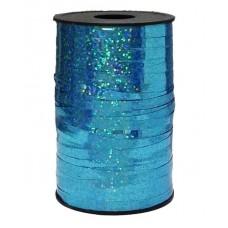 Лента (0,5 см*250 м) Голубой, Голография, 1 шт.