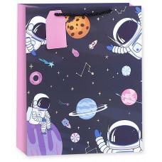 Пакет подарочный, Космический День Рождения!, 23*18*10 см, 1 шт.