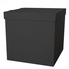 Коробка для воздушных шаров Черный, 60*60*60 см, 1 шт.