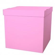 Коробка для воздушных шаров Розовый, 60*60*60 см, 1 шт.