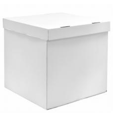 Коробка для воздушных шаров Белый, 60*60*60 см, 1 шт.