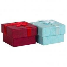 Набор коробок, Нежный бант, для украшений, Ассорти, 4*4*3 см, 24 шт.