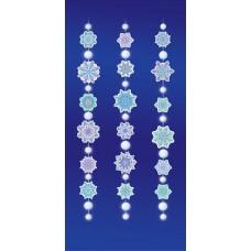 Гирлянда-подвеска Снежинки, 450 см