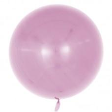 Шар (18''/46 см) Сфера 3D, Deco Bubble, Пыльная роза, Глянец, 10 шт.