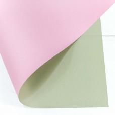 Упаковочная матовая пленка (0,4*0,45 м) Бежевый/Розовый, 20 шт.