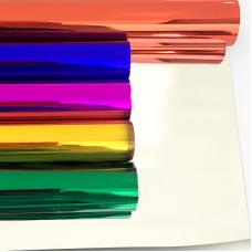 Упаковочная пленка (0,7*7,9 м) Металлик, Ассорти, 5 шт.