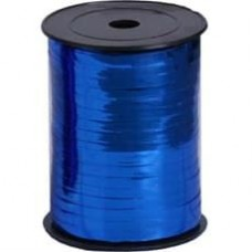Лента (0,5 см*228,6 м) Синий, Металлик, 1 шт.