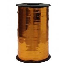 Лента (0,5 см*250 м) Бронза, Металлик, 1 шт.