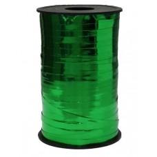 Лента (0,5 см*250 м) Зеленый, Металлик, 1 шт.