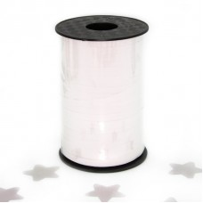 Лента (0,5 см*250 м) Белый, Металлик, 1 шт.