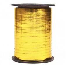 Лента (0,5 см*228,6 м) Золото, Металлик, 1 шт.
