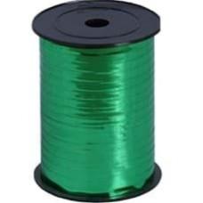 Лента (0,5 см*228,6 м) Зеленый, Металлик, 1 шт.