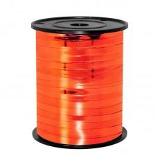 Лента (0,5 см*250 м) Красный (310), Металлик, 1 шт.