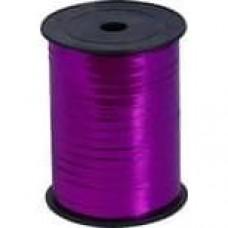 Лента (0,5 см*228,6 м) Сиренево-малиновый, Металлик, 1 шт.