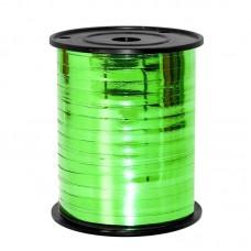 Лента (0,5 см*250 м) Зеленый (330), Металлик, 1 шт.