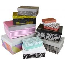 Набор коробок Дизайнерский тренд, Ассорти, 31*20*13 см, 10 шт.