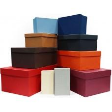 Набор коробок Ассорти, 30*20*13 см, 10 шт.