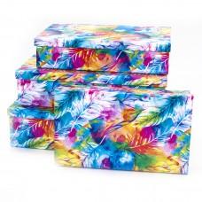 Набор коробок Акварель, 30*20*8 см, 4 шт.