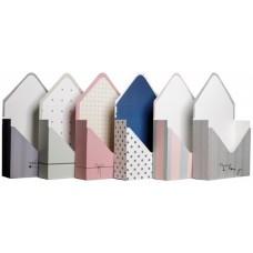 Набор коробок Конверт, Ассорти дизайнов №3, 30*17*6 см, 6 шт.