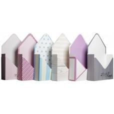 Набор коробок Конверт, Ассорти дизайнов №1, 30*17*6 см, 6 шт.