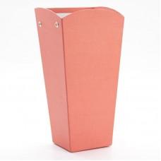 Коробка подарочная, Трапеция, Красный, 26*12*10 см, 1 шт.