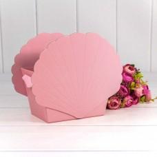 Коробка подарочная Ракушка, Розовый, 19*12*16 см, 1 шт.