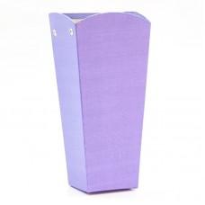 Коробка подарочная, Трапеция, Фиолетовый, 26*12*10 см, 1 шт.