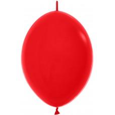 Линколун (12''/30 см) Красный (015), пастель, 50 шт.