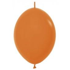 Линколун (12''/30 см) Оранжевый (061), пастель, 100 шт.