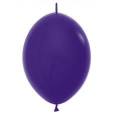 Линколун (6''/15 см) Фиолетовый (051), пастель, 100 шт.