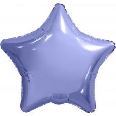 Шар (30''/76 см) Звезда, Пастельный фиолетовый, 1 шт. в упак.