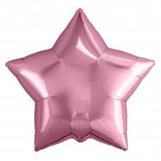 Шар (9''/23 см) Мини-звезда, Розовый фламинго, 1 шт.