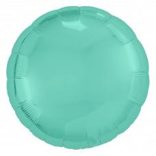Набор шаров (9''/23 см) Мини-круг, Бискайский зеленый, 5 шт. в упак.