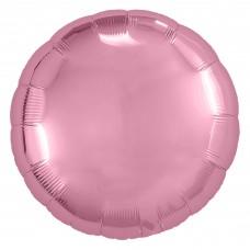 Шар (9''/23 см) Мини-круг, Розовый фламинго, 1 шт.