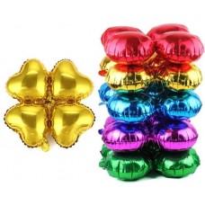 Связка шаров для арки (21''/53 см) Сердце, Золото, 1 шт.