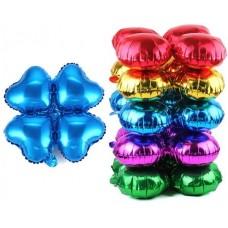 Связка шаров для арки (21''/53 см) Сердце, Синий, 1 шт.