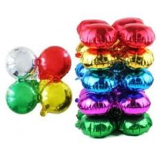Связка шаров для арки (21''/53 см) Круг, Четыре цвета, 1 шт.