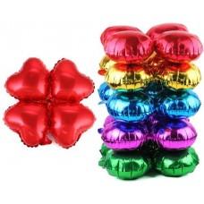 Связка шаров для арки (21''/53 см) Сердце, Красный, 1 шт.