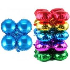 Связка шаров для арки (21''/53 см) Круг, Синий, 1 шт.