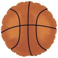 Шар (18''/46 см) Круг, Баскетбольный мяч, Коричневый, 1 шт.