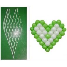 "Матрица Сердце, 38 шаров 5"", 1 шт."
