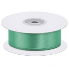 Лента атласная (0,7 см*22,85 м) Зеленый, 1 шт.