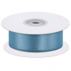 Лента атласная (0,7 см*22,85 м) Голубой, 1 шт.