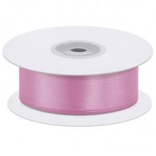 Лента атласная (0,7 см*22,85 м) Розовый, 1 шт.
