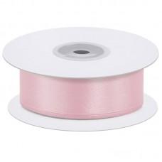 Лента атласная (0,7 см*22,85 м) Нежно-розовый, 1 шт.